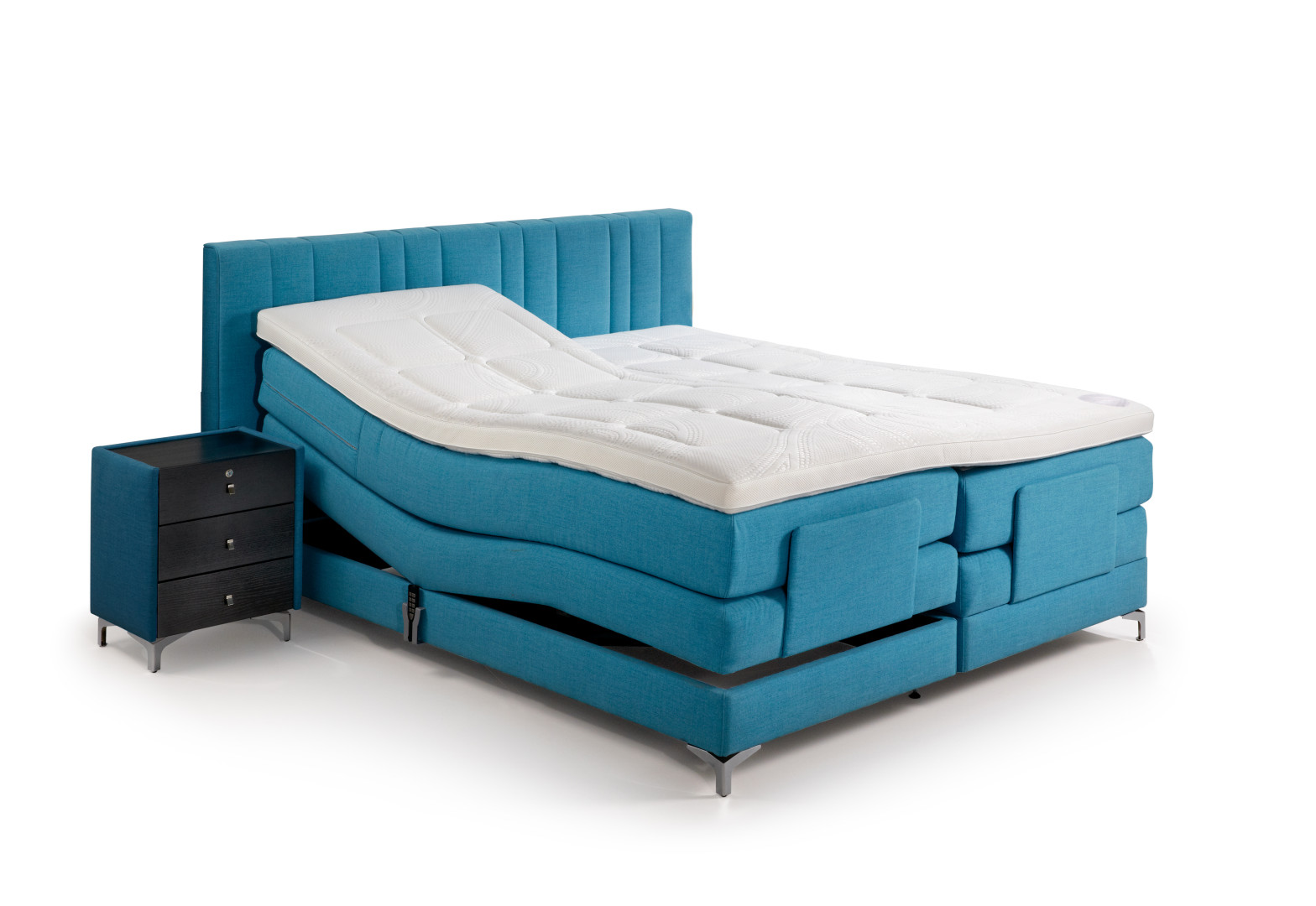 luxusn boxsprings postele belgick zna ky velda. Black Bedroom Furniture Sets. Home Design Ideas