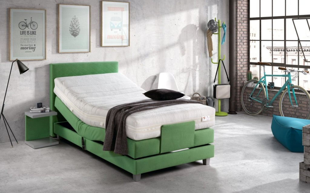 Boxspring postel Bock and Rest 06