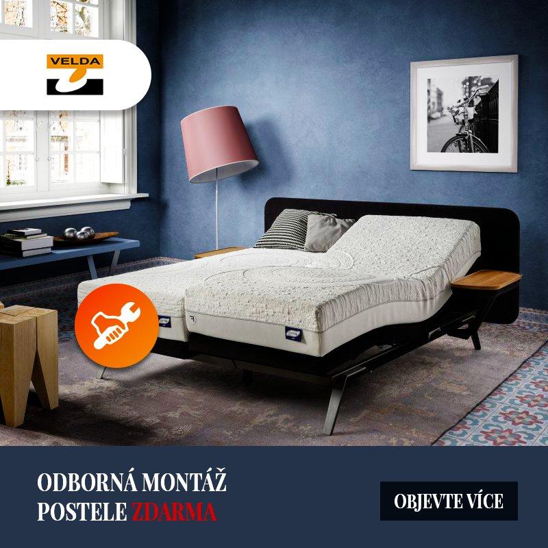 800x800 akce odborna montaz postele zdarma